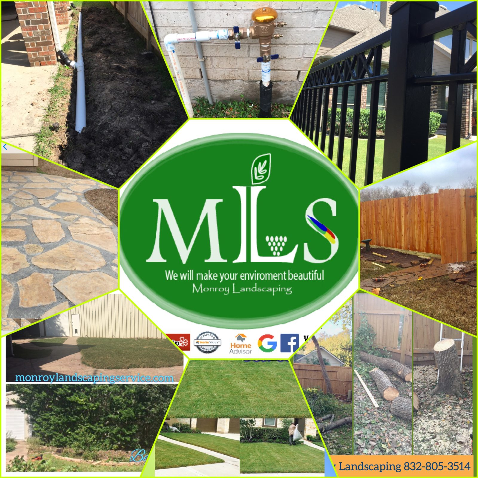 wood fence repair, sidewalk, tree service, Sprinkler valve replacement, mowing care, interior exterior painting, pressure washer